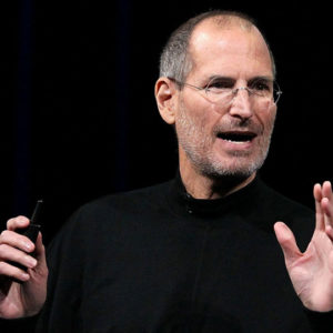Un exemple type : Steve Jobs
